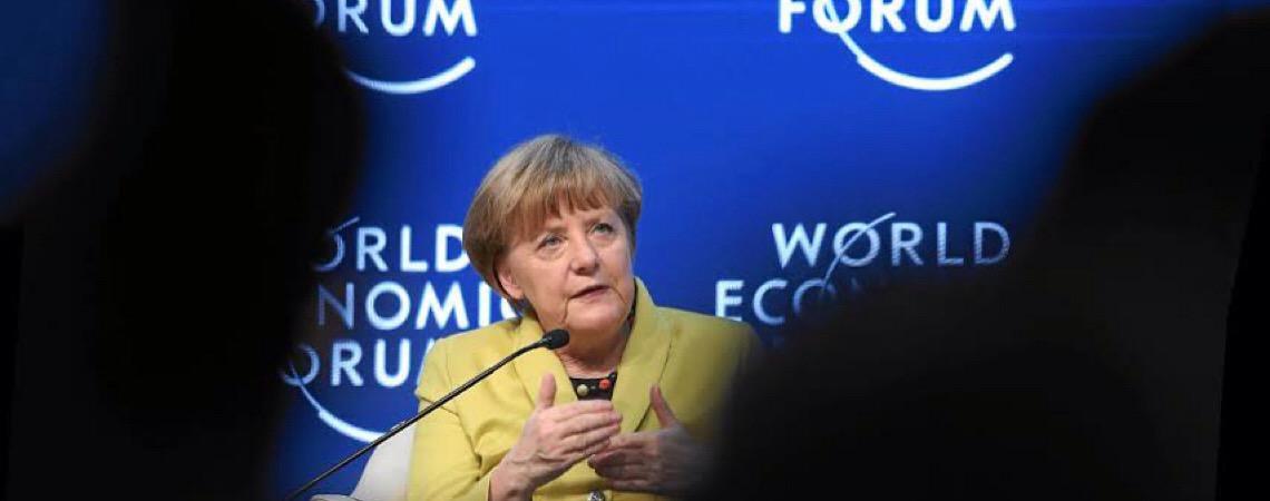 Angela Merkel quebra protocolo ao recepcionar primeira-ministra da Dinamarca