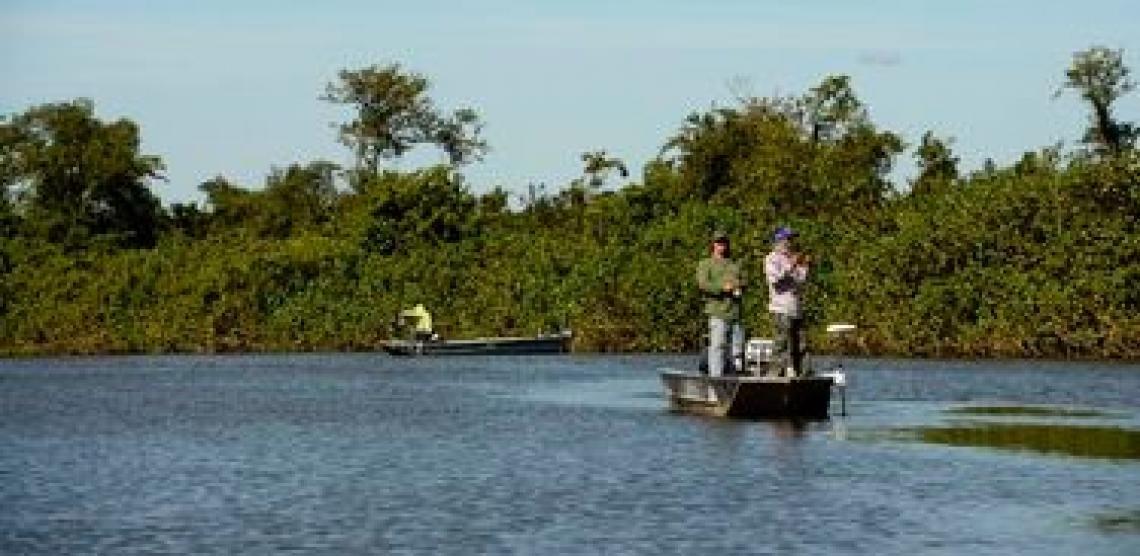 Pescadores brasileiros ajudam a preservar meio ambiente durante período de defeso