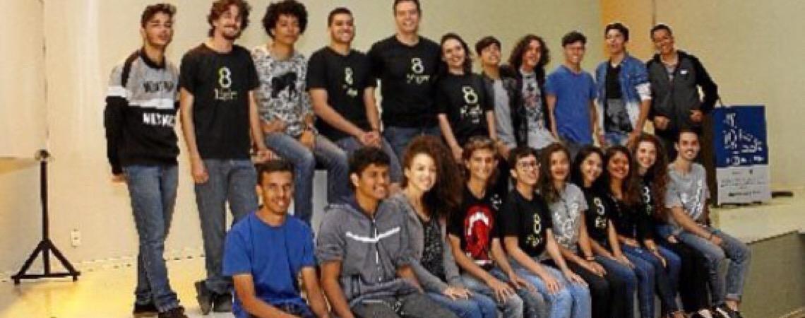 Projeto Eight motiva estudantes de Brasília