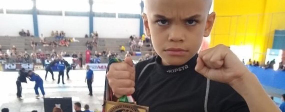 Jovem campeão. 'Avatar' é destaque no Jiu-Jitsu goiano