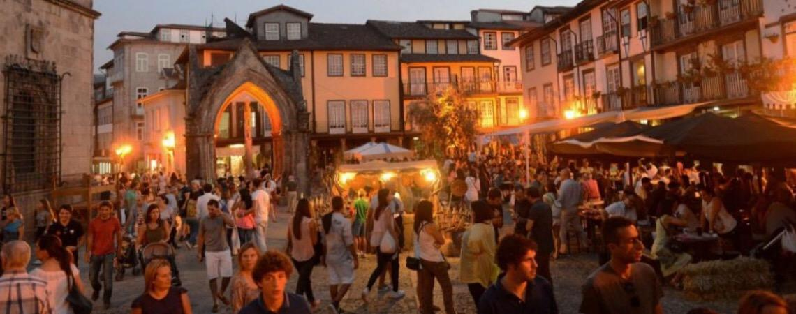 Portugal. Visite Guimarães