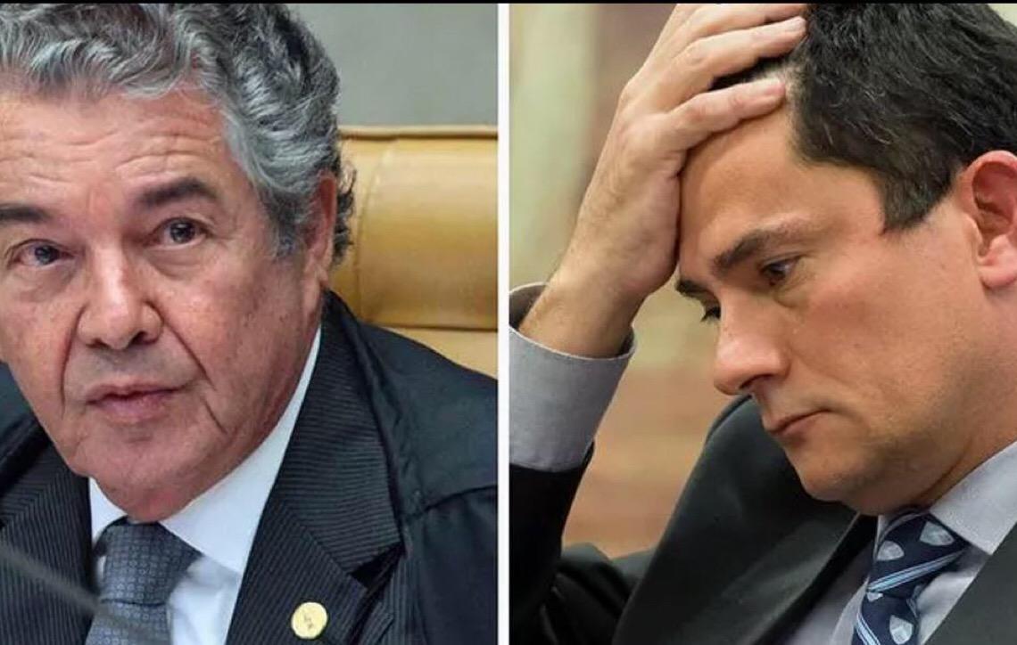 Marco Aurélio desabafa e diz esperar que Moro não seja ministro do Supremo