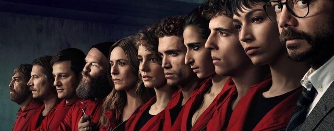 La Casa de Papel expõe sociedade dividida e cita o Brasil em nova temporada
