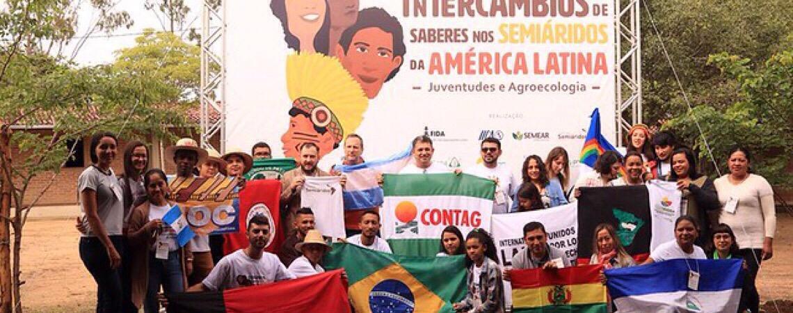 Jovens da Argentina, Bolívia, Paraguai, Nicarágua e El Salvador visitam Semiárido brasileiro