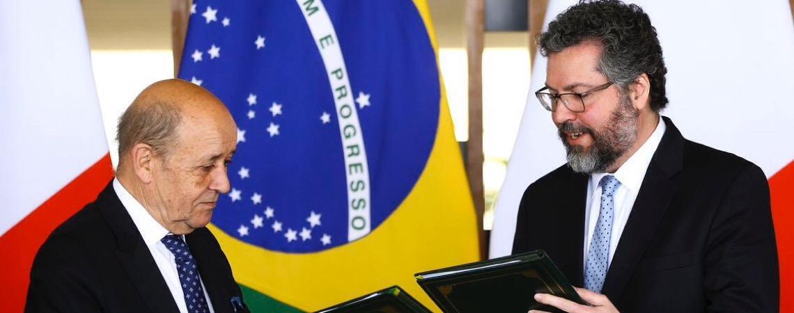 Brasil e França destacam importância do acordo Mercosul-União Europeia