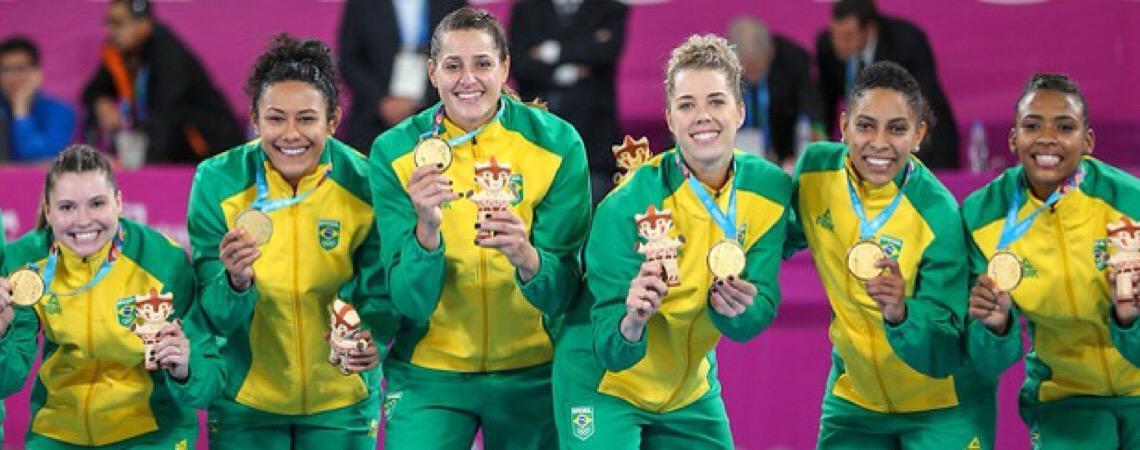 Brasil, país do handebol. Seleção feminina não perde uma partida no Pan-Americano há 24 anos