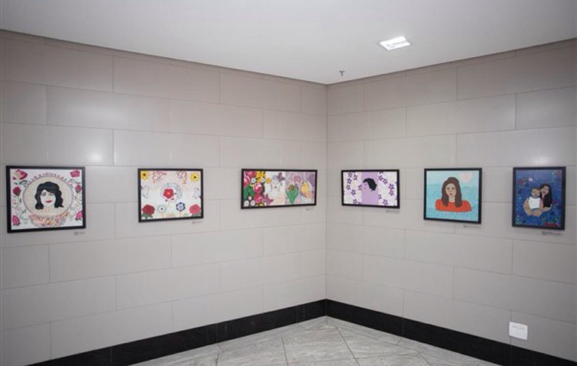 MP em Brasília abre exposição com obras de mulheres vítimas de violência