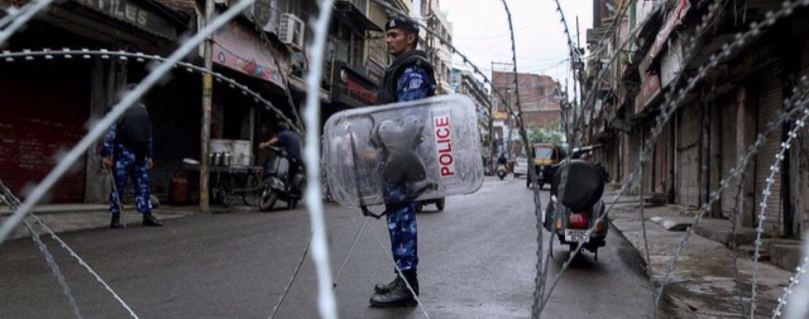 Bloqueio indiano na Caxemira abre precedente preocupante, afirma Organização das Nações Unidas