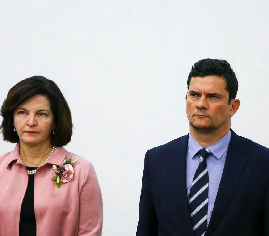 Raquel Dodge se opõe a investigação contra Sergio Moro no caso dos hackers
