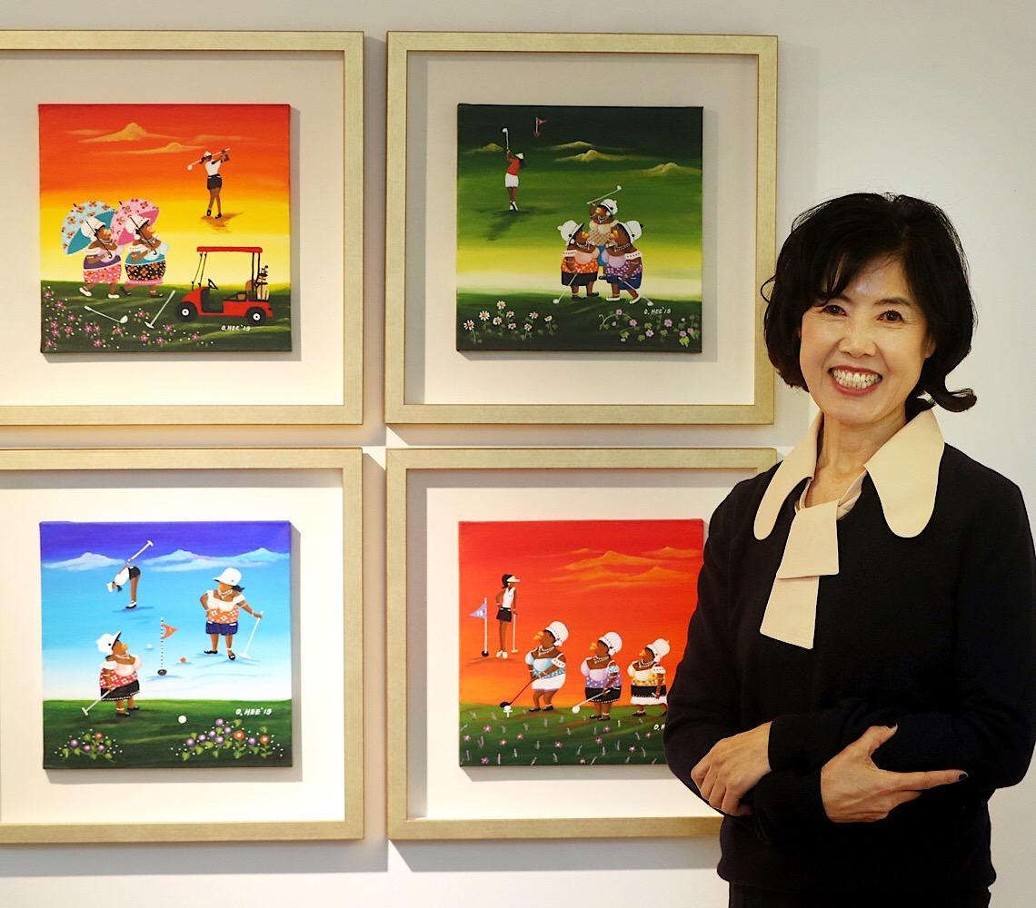 Artista sul-coreana retrata nordeste brasileiro em exposição na Câmara Legislativa em Brasília