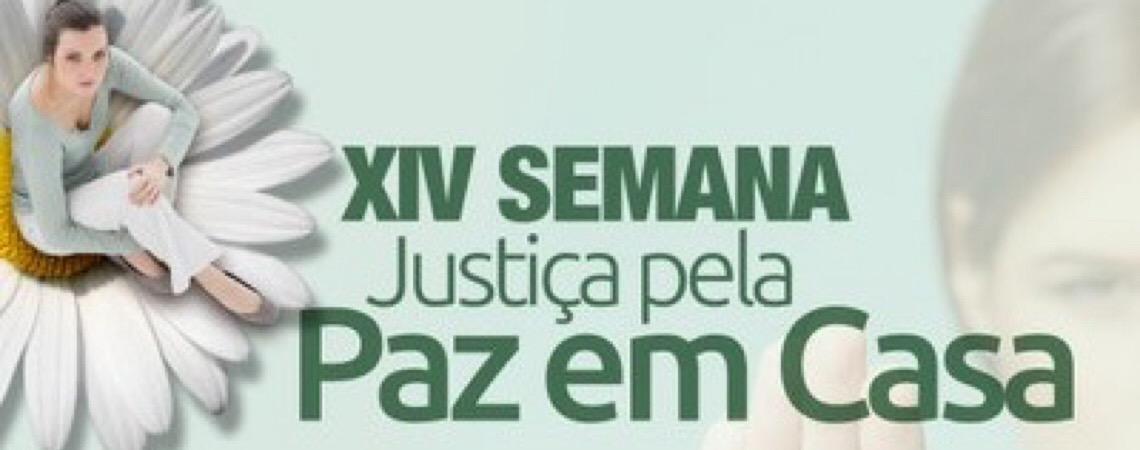 Em Brasília. Núcleo Judiciário da Mulher divulga programação da XIV Semana da Paz em Casa