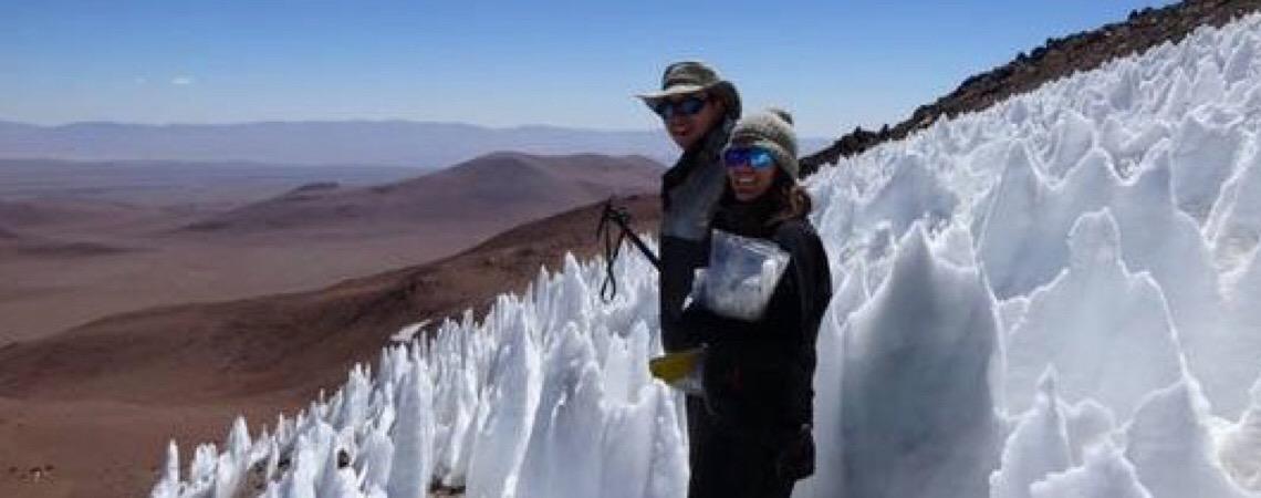 Cientistas encontram vida nas alturas estéreis deste vulcão chileno
