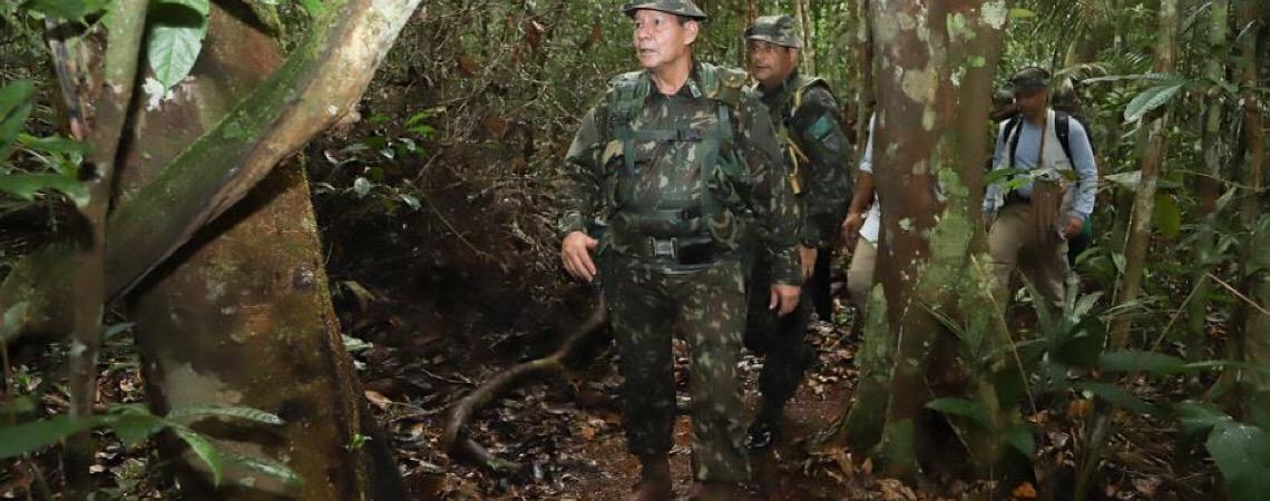 Amazônia brasileira está segura, diz Hamilton Mourão