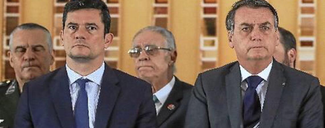 Situação do ministro da Justiça e Segurança Pública, Sérgio Moro, no governo Bolsonaro chegou ao limite
