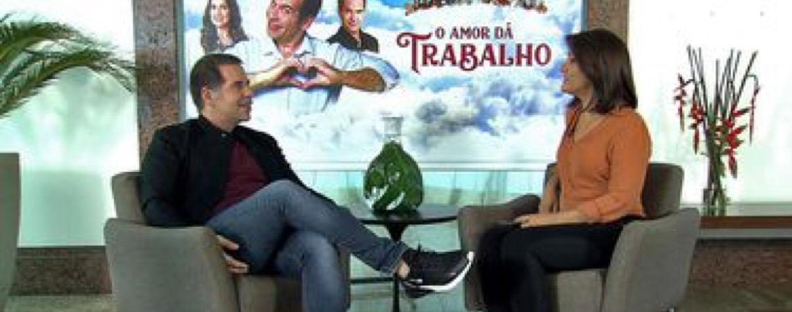 """""""Meu público está no Brasil, quero que o país dê certo"""", diz ator Leandro Hassum"""