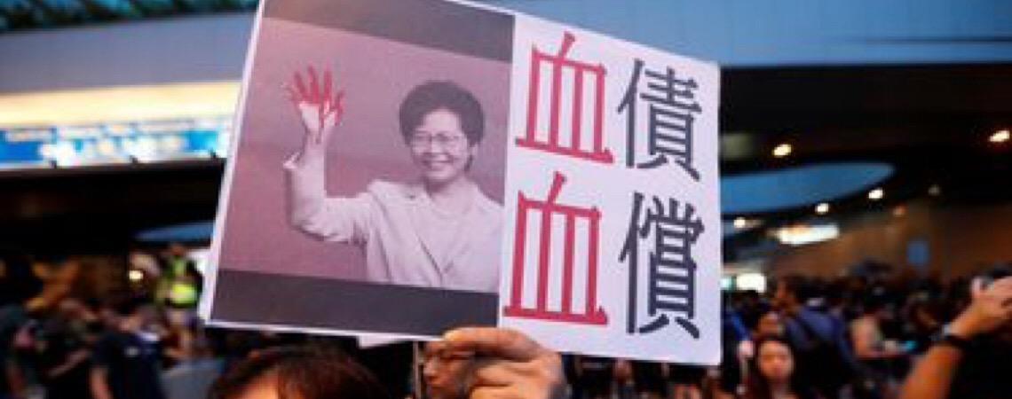 Chefe de Governo de Hong Kong cancela oficialmente lei da extradição