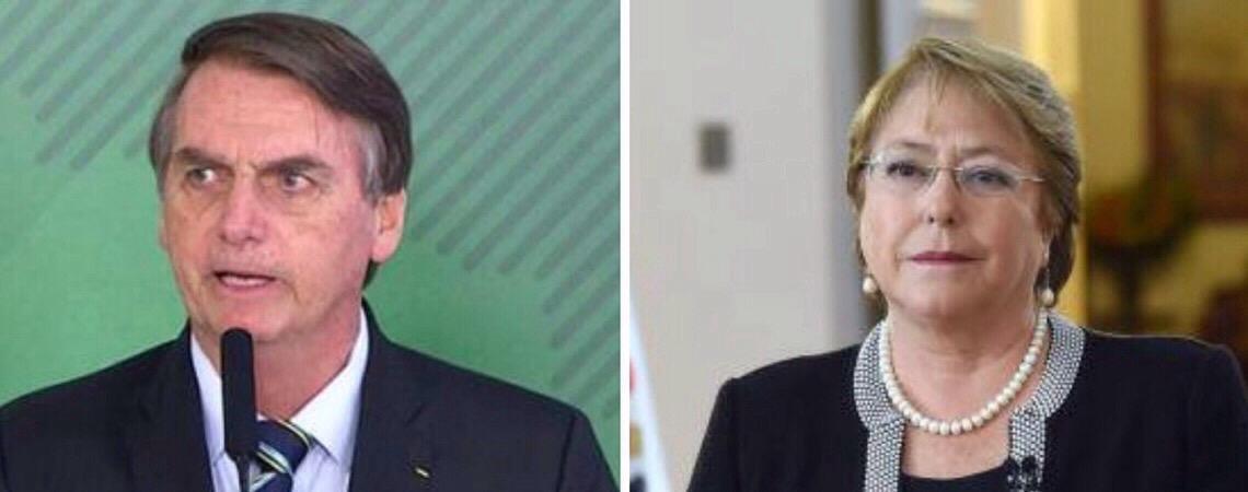 Políticos brasileiros e lideranças internacionais repudiam ataque de Bolsonaro contra Bachelet