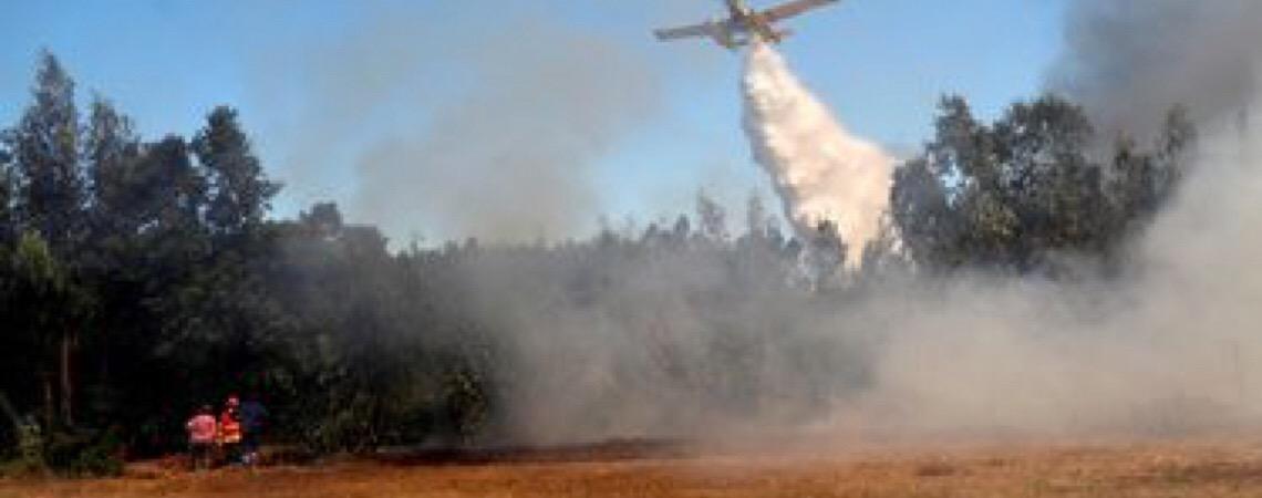 Portugal está em alerta máximo por causa dos incêndios.