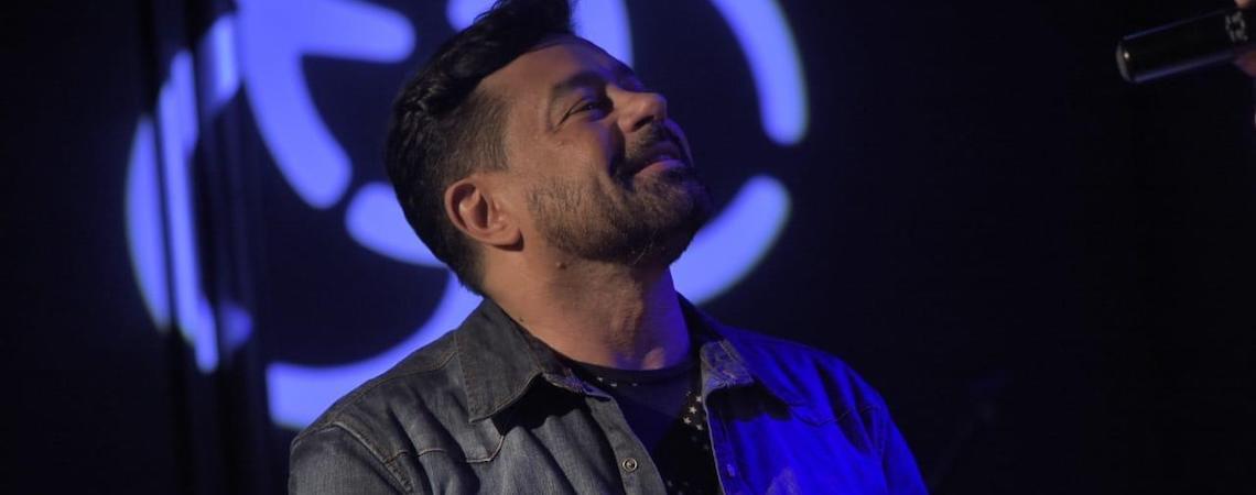 Nilson Lima homenageia Gonzaguinha em show no Clube do Choro