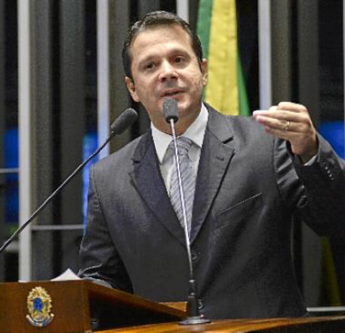 """José Antônio Reguffe. """"O Brasil precisa de uma reforma da Previdência. Ela é necessária"""""""