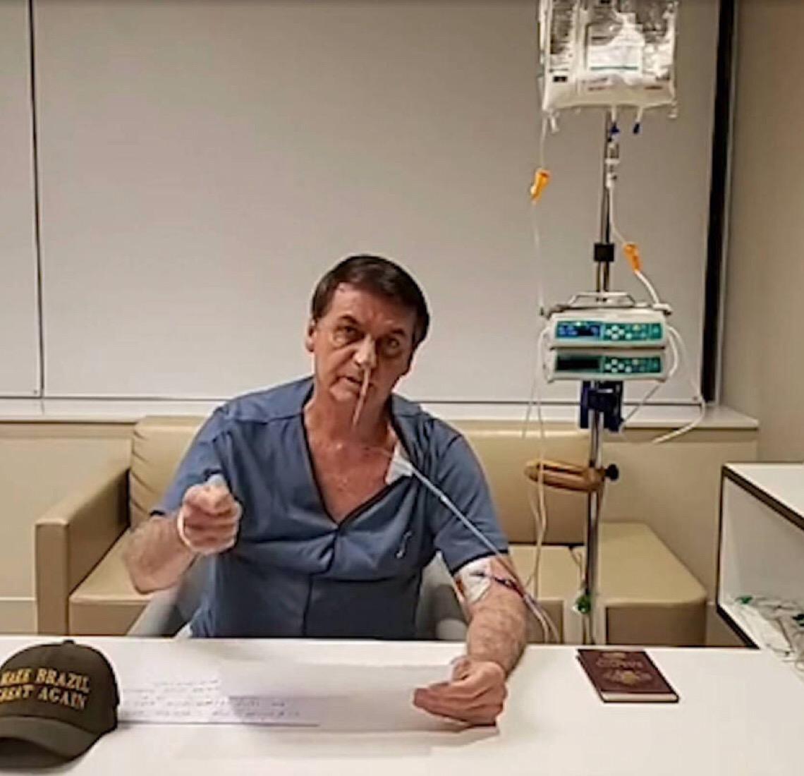 Bolsonaro vai receber alta médica nesta segunda-feira e voltará a Brasília