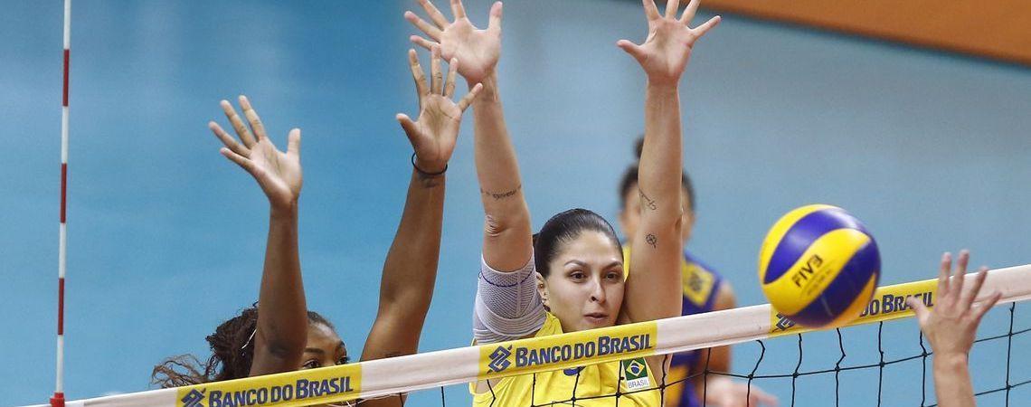 Brasileiras sofrem primeira derrota na Copa do Mundo de Vôlei