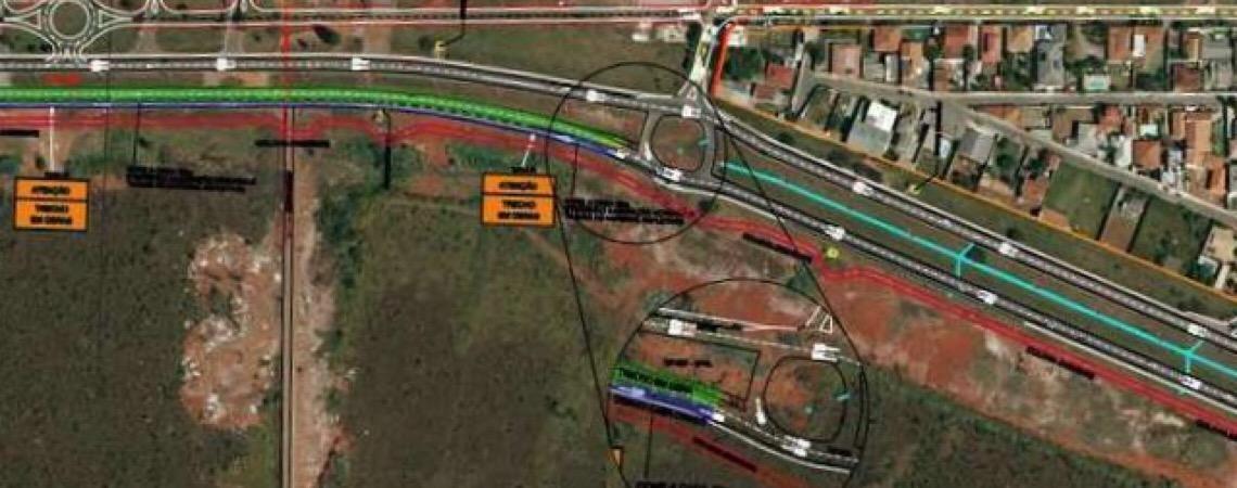 Obras bloquearão o trânsito na EPVL a partir desta quarta-feira. Fluxo será interrompido por 20 dias
