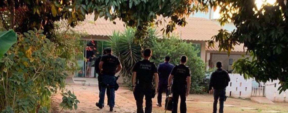 MP do DF cumpre em Brasília mandados da Operação Chorume, deflagrada pelo MP de Goiás