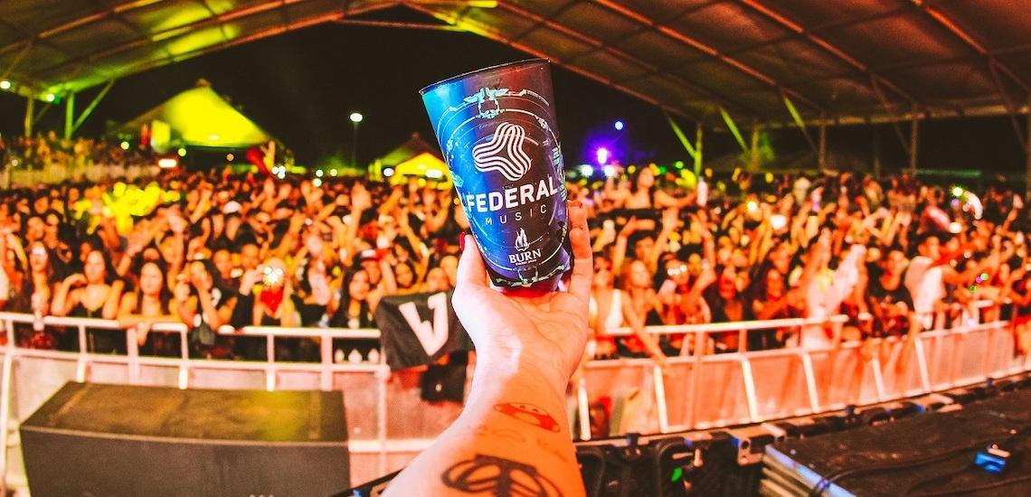 Federal Music traz mais de 30 atrações em 12 horas de festa na véspera do feriado