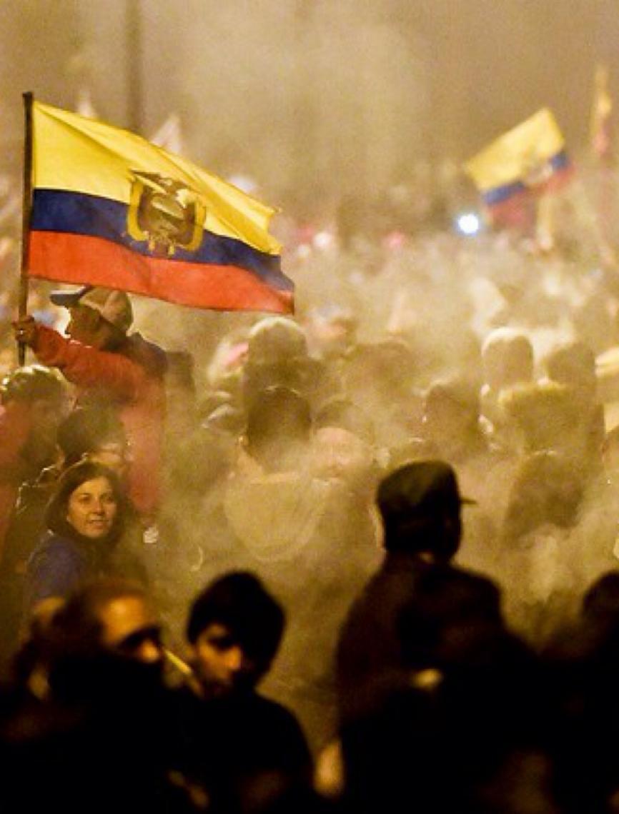 Pressão popular derruba decreto imposto pelo FMI no Equador
