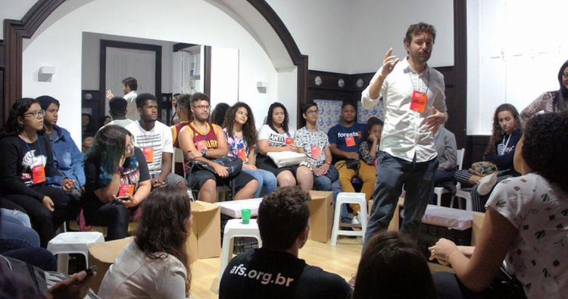 Evento em Brasília incentiva jovens a serem cidadãos globais