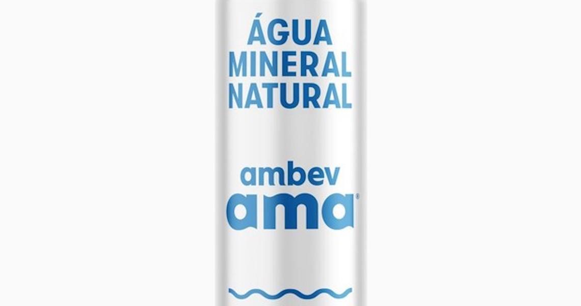 Ambev lançará primeira água mineral em lata do Brasil até fim de 2019