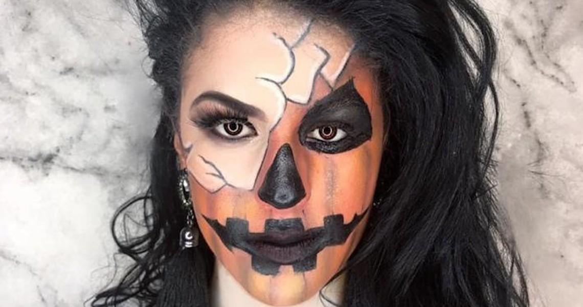 Make artística é segredo para celebrar 'causar' nas festas de Halloween