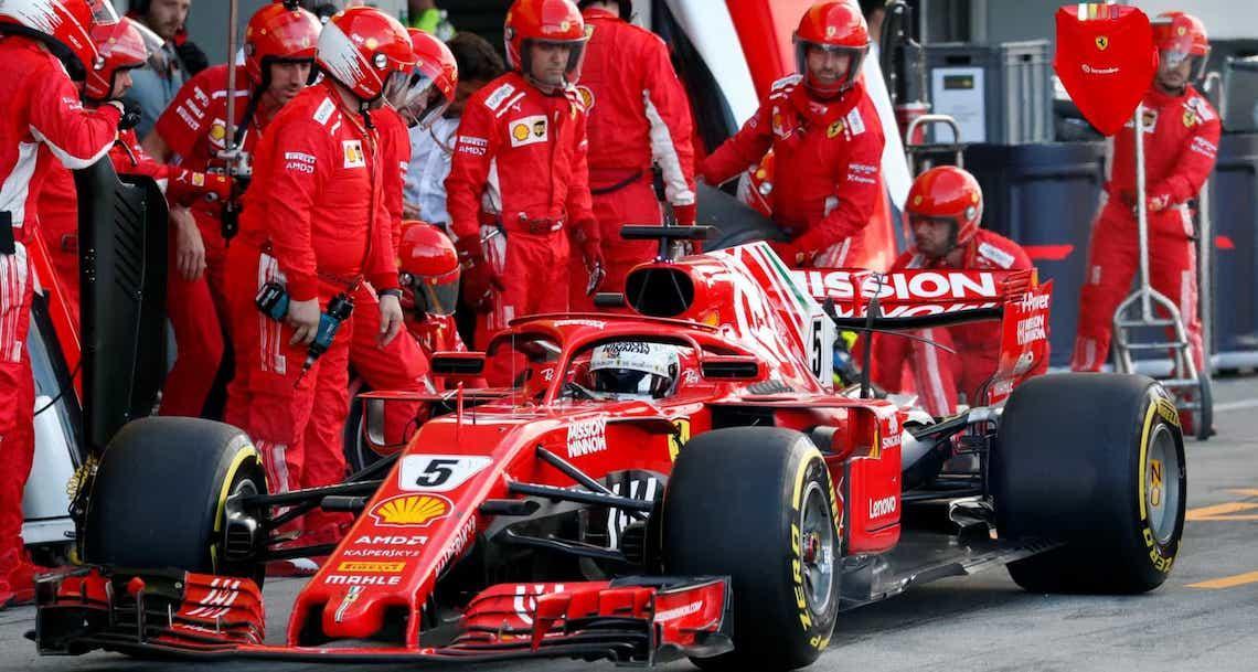 Ferrari nega problemas com rivalidade entre Vettel e Leclerc