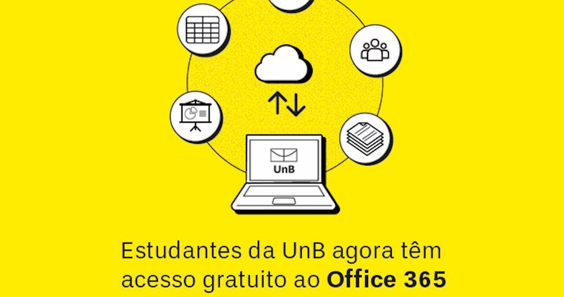 Estudantes da UnB terão acesso gratuito ao Office 365