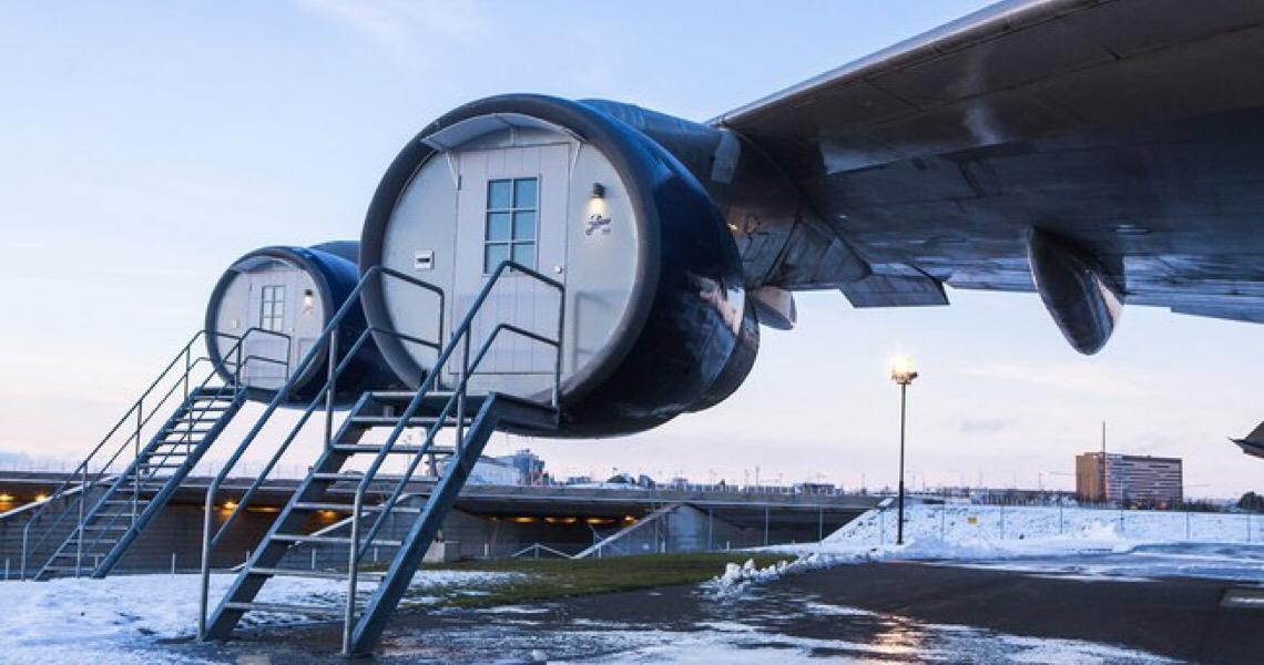 De turbina de avião a Kombi: 5 meios de transporte que viraram quarto de hotel