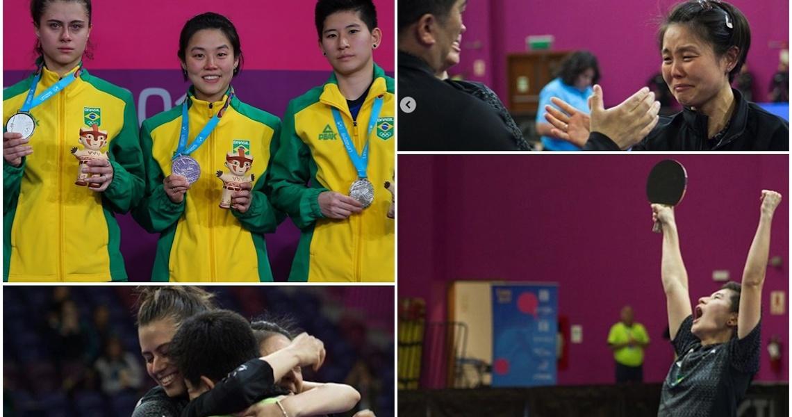 Brasil vence pré-olímpicos e terá equipes masculina e feminina de tênis de mesa em Tóquio