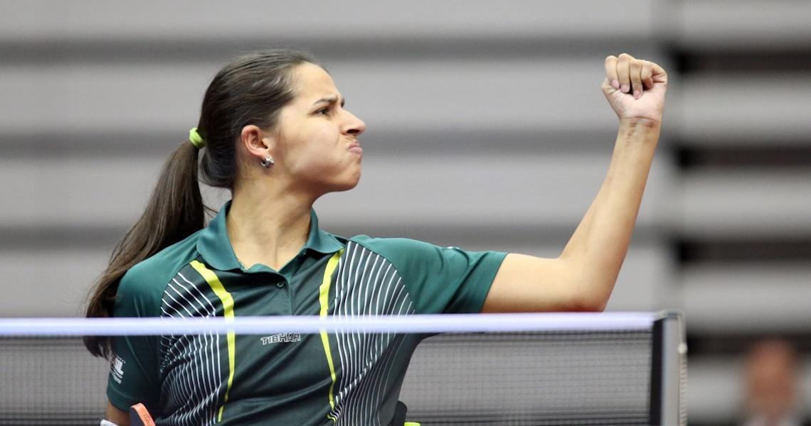 Brasil soma cinco pódios no Aberto da Holanda de tênis de mesa paralímpico