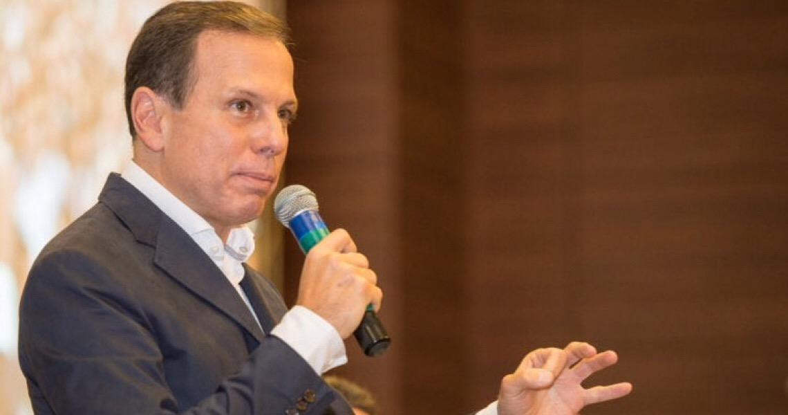 Governador de São Paulo, João Doria diz que saída do ex-presidente Lula da prisão é