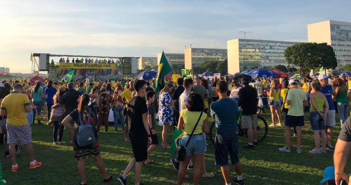 Atos em capitais brasileiras defendem prisão após segunda instância e criticam Supremo Tribunal Federal