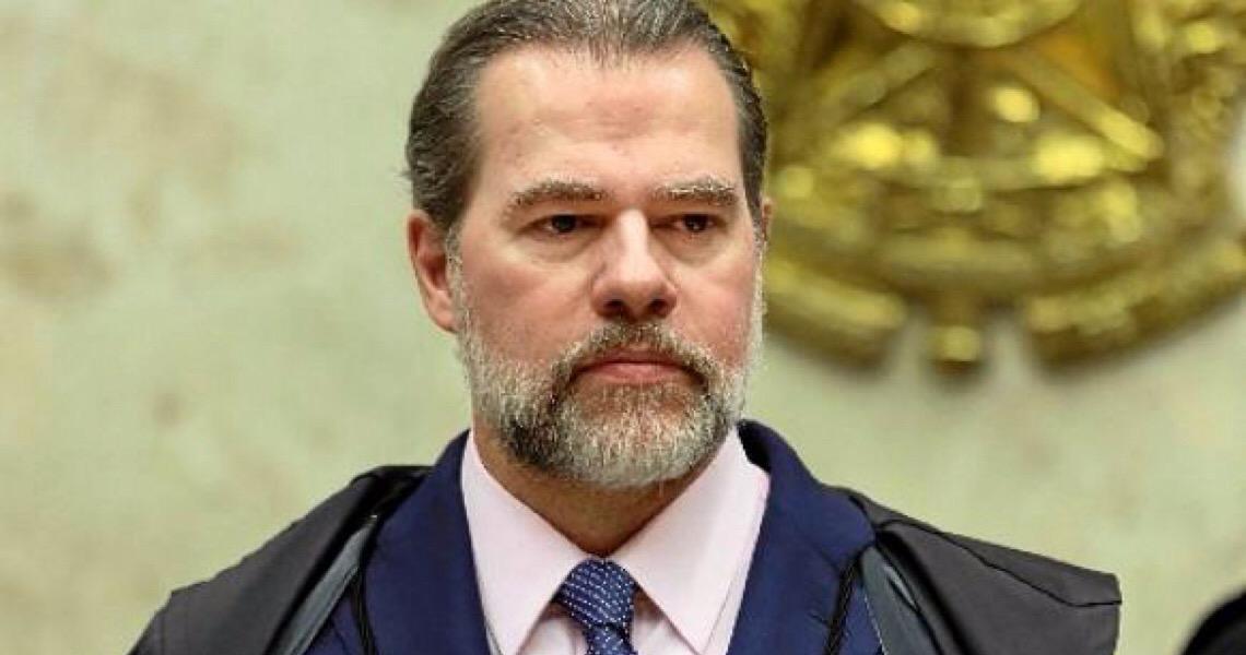 Presidente do Supremo Tribunal Federal, Dias Toffoli, reage aos discursos do ex-presidente Lula