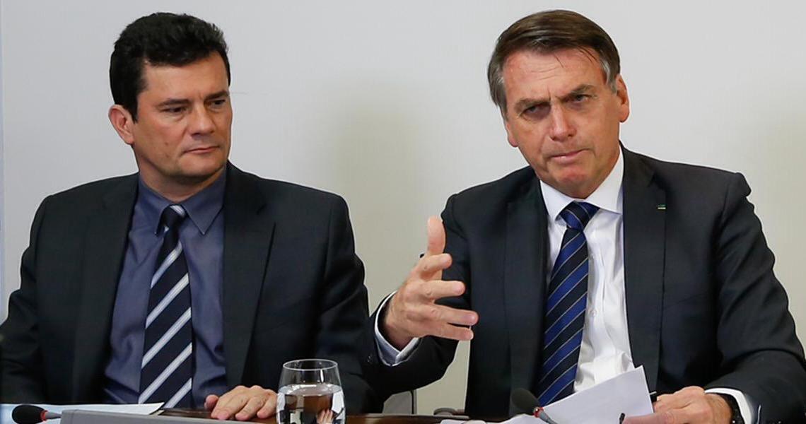 Com o aval de Bolsonaro, Sérgio Moro reage a Lula, se contrapõe ao Supremo e pede ação no Congresso
