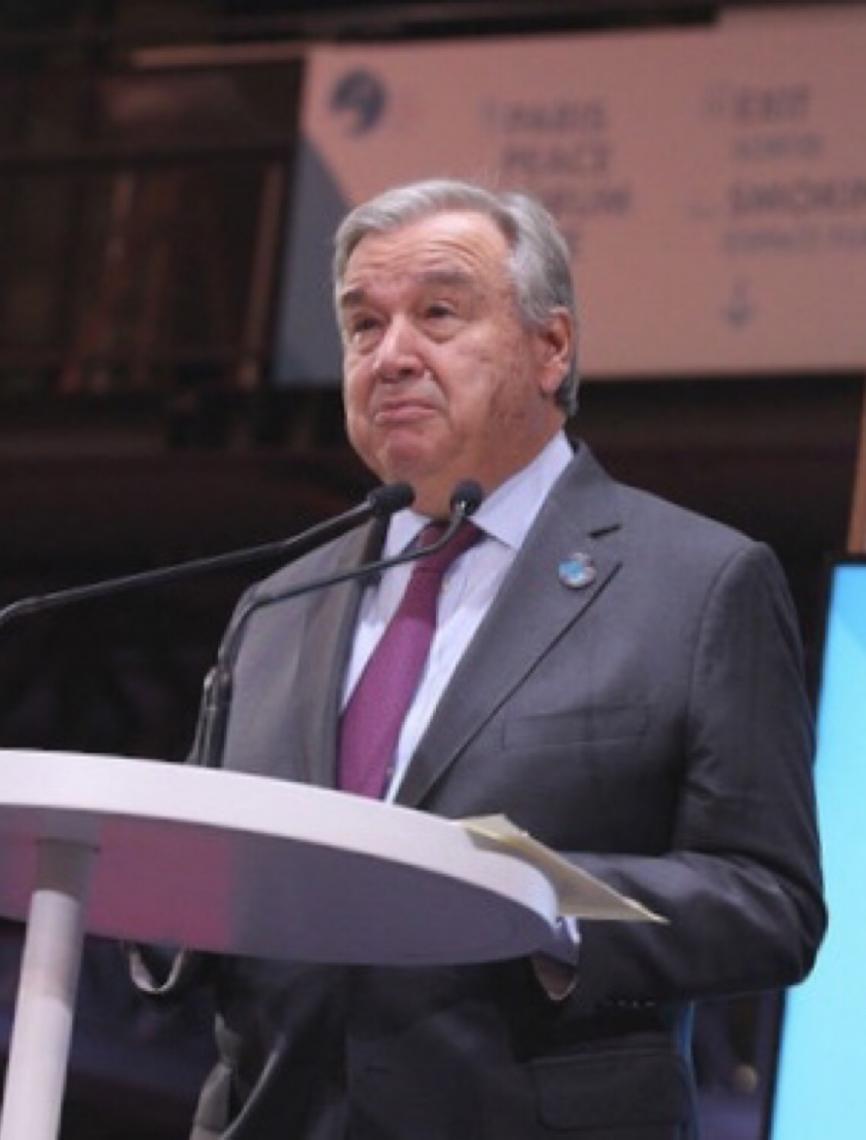 """Secretário-geral diz que """"mundo está se dividindo"""" e pede mais solidariedade internacional"""