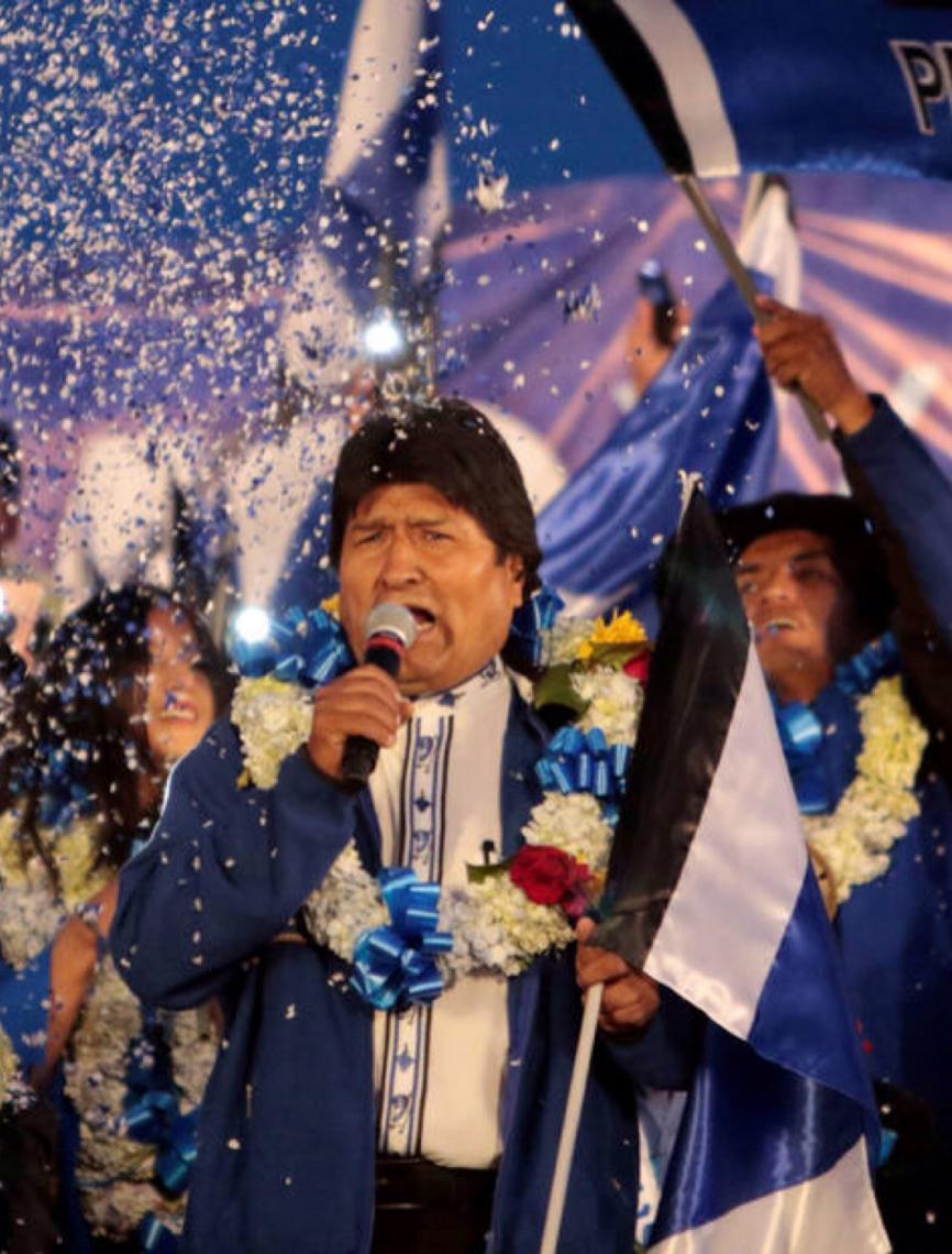 Evo Morales chega ao México e denuncia golpe de Estado na Bolívia