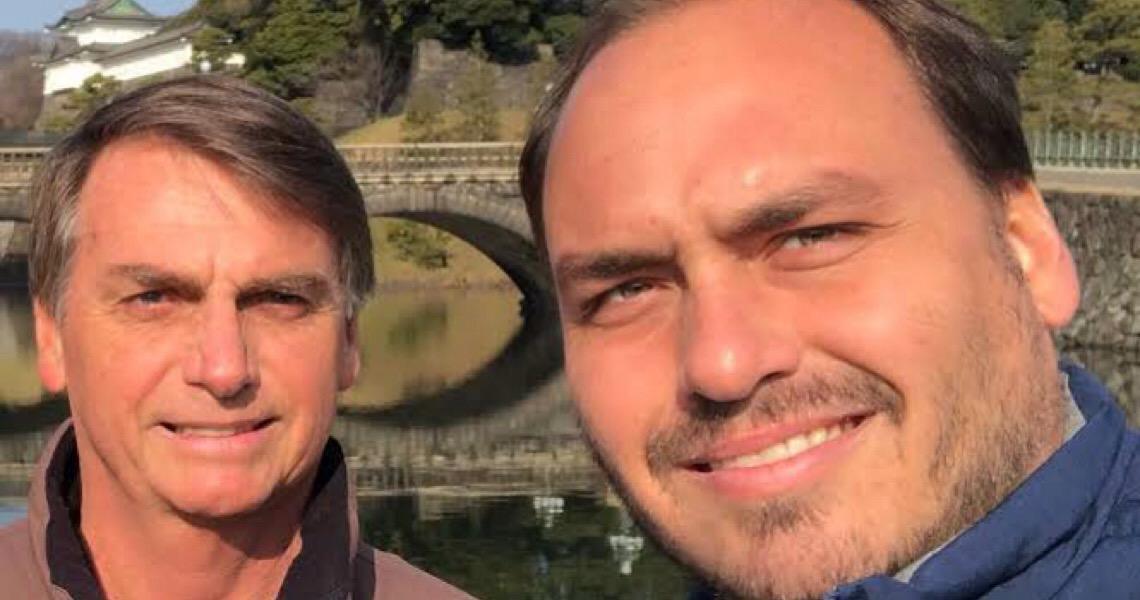 Carlos Bolsonaro está fora das redes sociais; contas não foram banidas