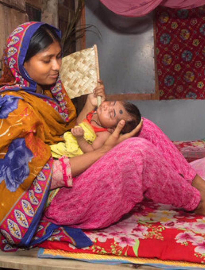 Uma criança morre por pneumonia a cada 39 segundos