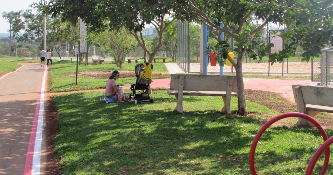 Parque Ezechias Heringer no Guará, a caminho da revitalização