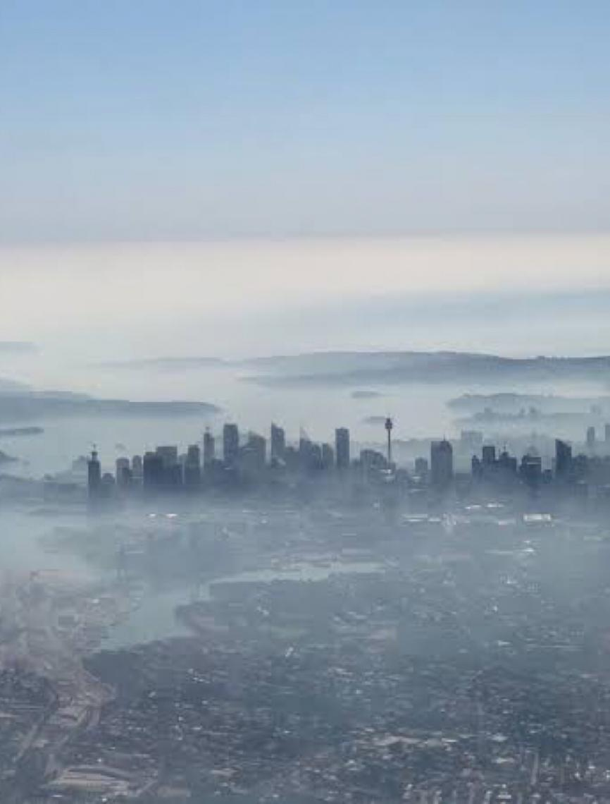 Poluição do ar em Sydney está entre as 20 piores do mundo