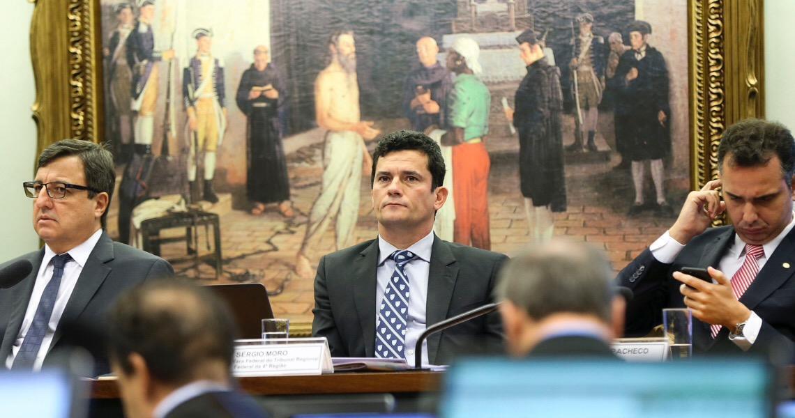 Senadores fecham acordo com Sergio Moro para votar segunda instância nesta quarta