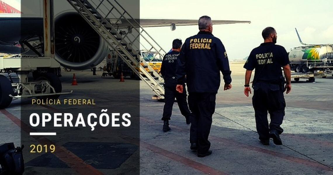Polícia Federal desarticula esquema internacional de envio de drogas para a Europa